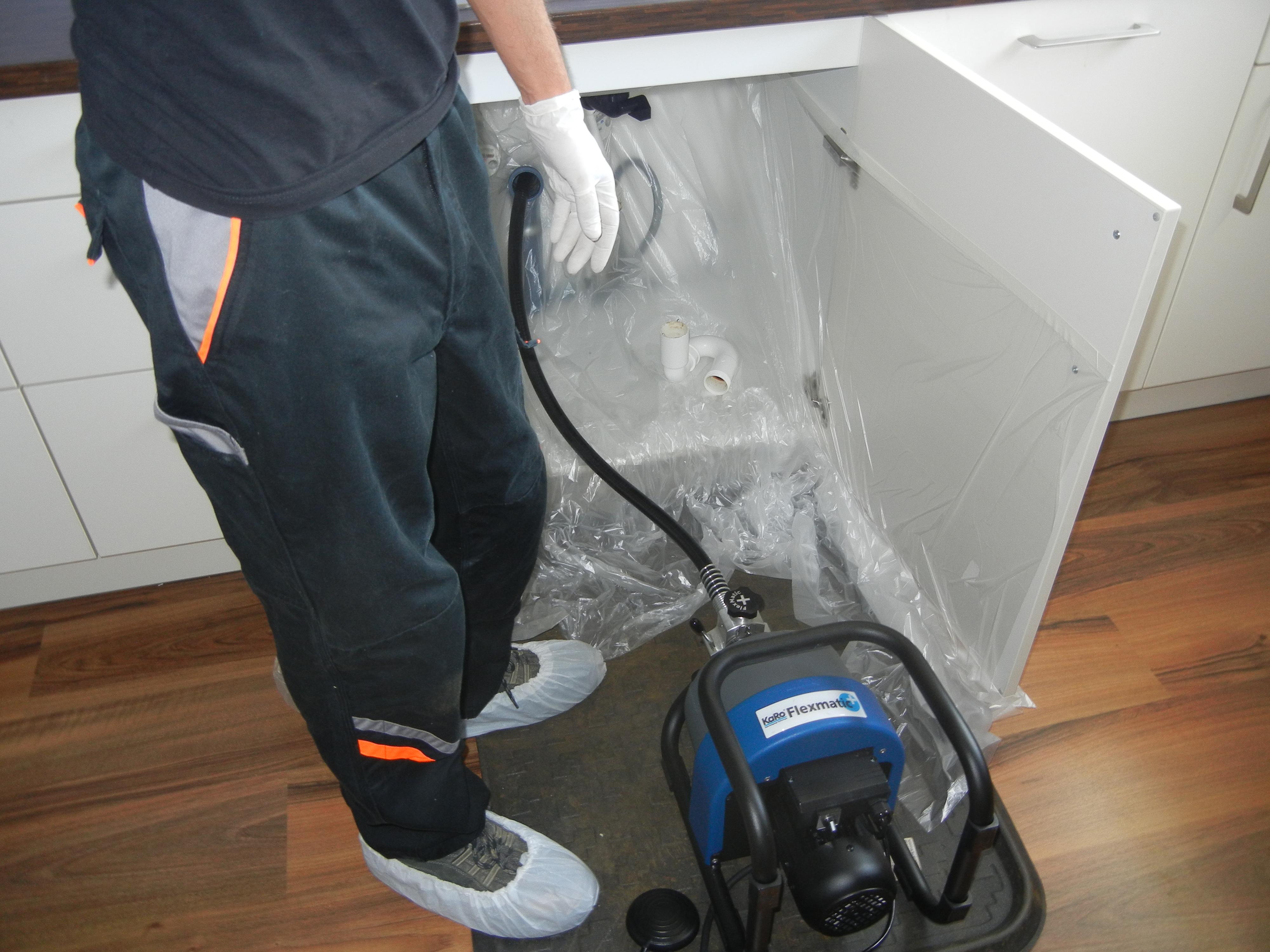 Sauberkeit bei der Arbeit