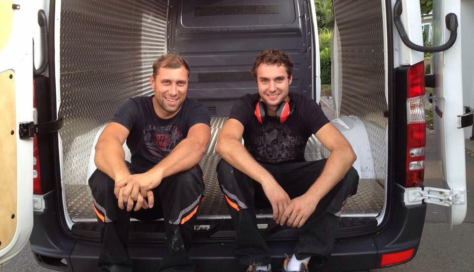 René Sache und Marc Spazier